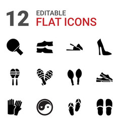 Pair icons vector
