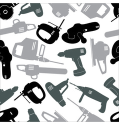 Power tools gray pattern eps10 vector