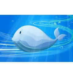 Under water fish vector