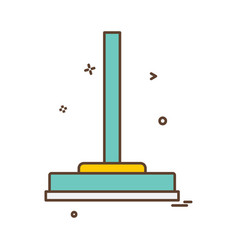 viper icon design vector image