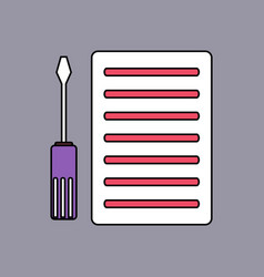 Flat icon design collection radiator grille and vector