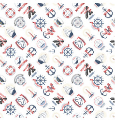 nautical marine sea anchor design graphics vector image vector image