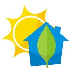 greener home 4 vector image vector image