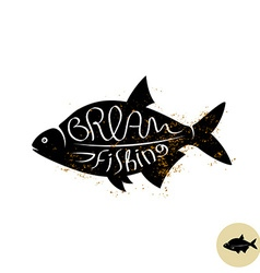 Bream logo vector