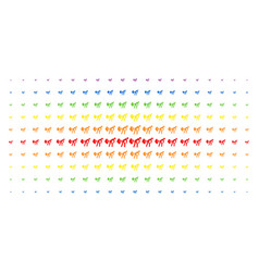 Fart gases spectrum halftone grid vector