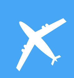 icons of the aircraft vector image