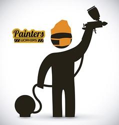 Painters design vector