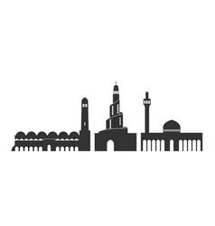qatar vector image