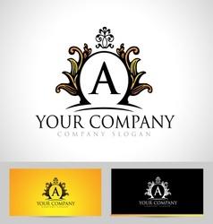 Royal Letter Logo vector image