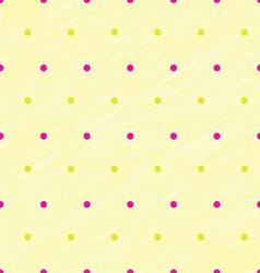 Simplicity dot yellow pastel vector