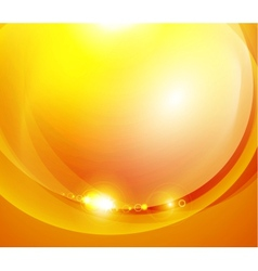 Sunshine orange background vector image