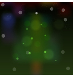 Abstract background with Christmas tree eps10 vector image