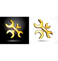 setup symbols vector image vector image