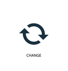 Change icon simple element vector