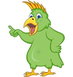 Cockatoo cartoon vector