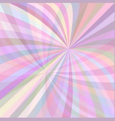 Colorful curved ray burst background - from vector