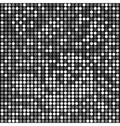 disco black background vector image vector image