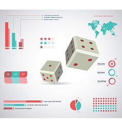Inforgraphic template vector image