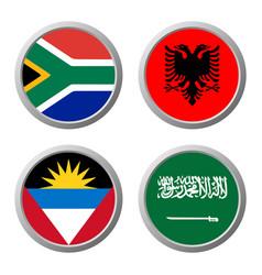 International flag icon vector