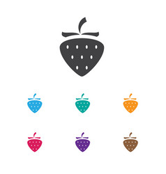 Of business symbol on berry vector