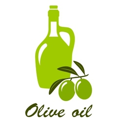 Olive oil sign vector