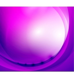 Purple wave background vector image