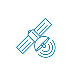 radio detection linear icon concept radio vector image