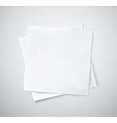 Two napkins vector image