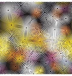 circles seamless tile vector image vector image