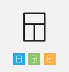 Of kin symbol on windows vector