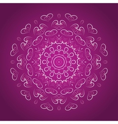 Beautiful abstract for valentine day vector image vector image