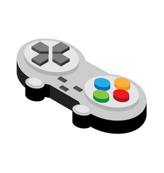 video game controller of flat style vector image