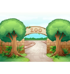 a zoo vector image