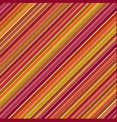 Abstract diagonal stripe background - colorful vector