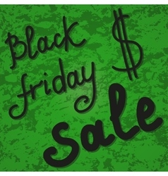 Background banner Black friday sale vector image