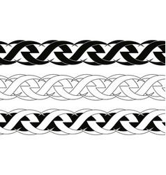 Celtic tattoo ornament vector