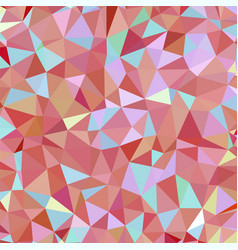 dark red salmon light coral triangular low poly vector image