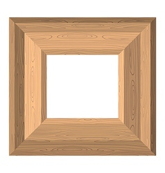 Empty wide frame pictures boards wood texture vector