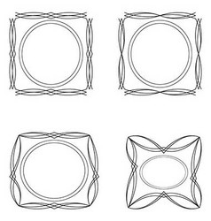 Four frames vector