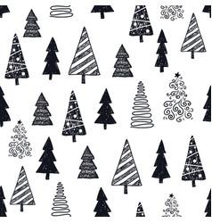 hand drawn year winter vector image
