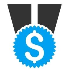 Money Award Flat Icon vector image