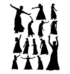 Opera and theater silhouette vector