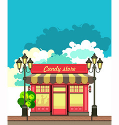 small local store vector image