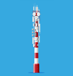 Transmission cellular tower antenna vector