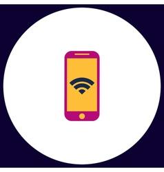 Wifi smartphone computer symbol vector