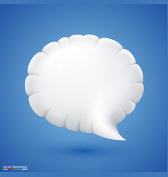chat cloud vector image vector image
