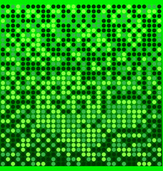disco green background vector image vector image