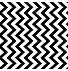 vertical zigzag chevron seamless pattern vector image