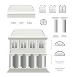 Antique house vector