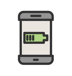Battery indicator vector